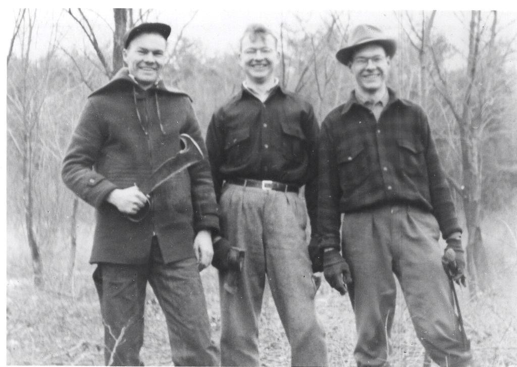 Robert, James and Carl Burns