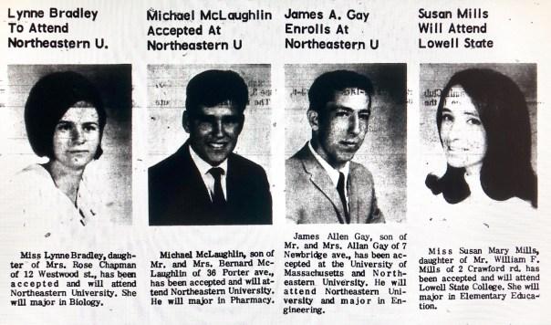 Lynne Bradley, Michael McLaughlin, James Gay, Susan Mills Burlington MA