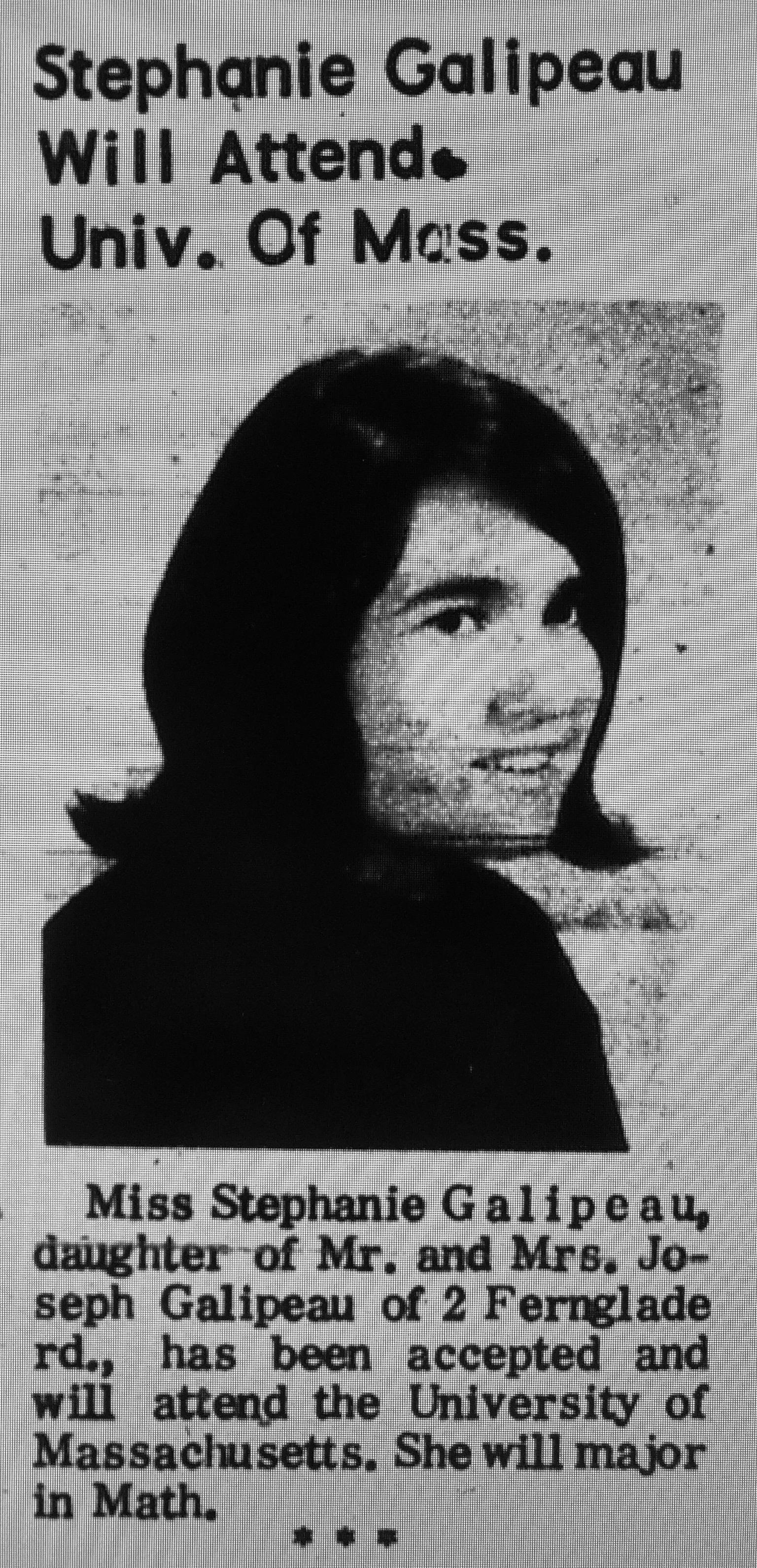 Stephanie Galipeau Umass Burlington MA