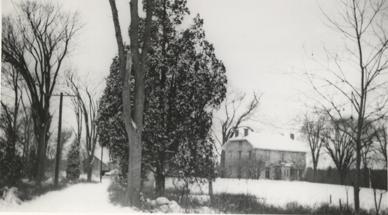 Kent Cottage and future Turnpike area c. 1930.