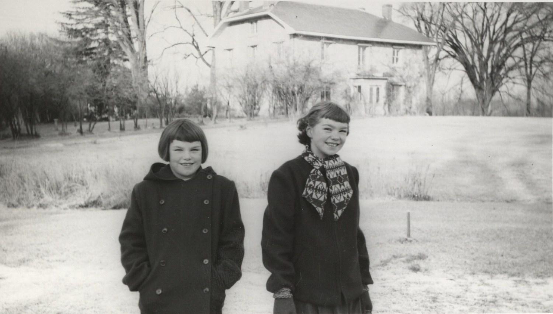 Tali (left) and Clare Burns, Burlington MA