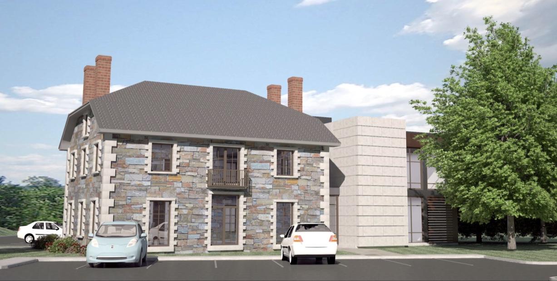 Kent Cottage EvoText rendering Burlington MA 1