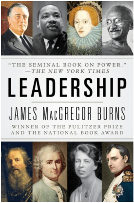 Leadership book cover