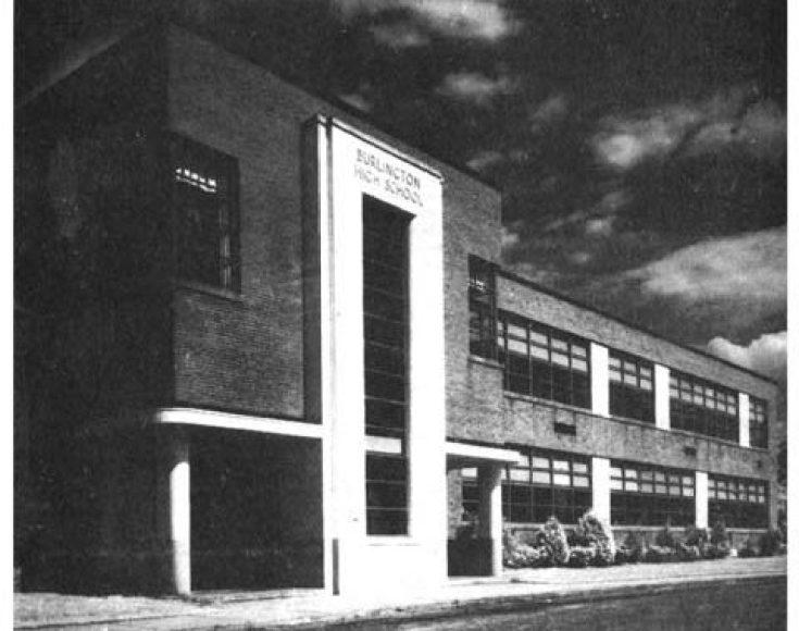 Burlington High School 1940 Burlington MA