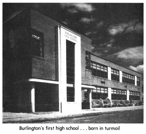 Burlington High School 1940 Burlington MA