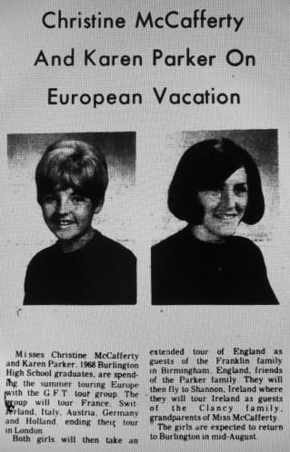 Christine McCafferty and Karen Parker