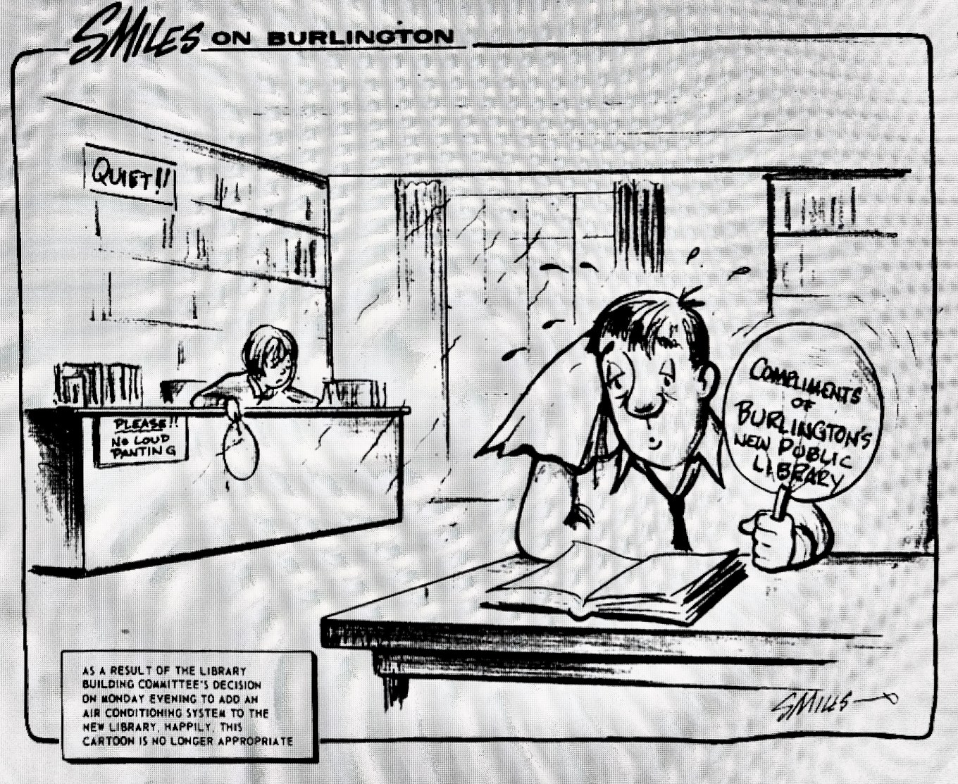 Smiles Library A/C cartoon