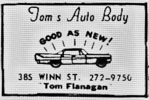 Tom's Auto Body Burlington MA