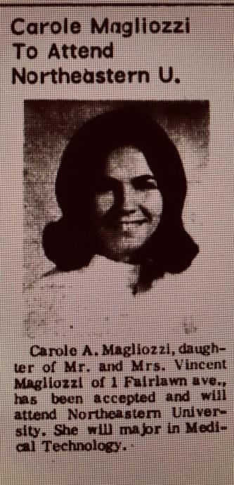 Carole Magliozzi Northeastern University Burlington MA