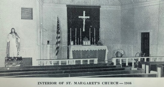 St. Margaret's Church interior 1946