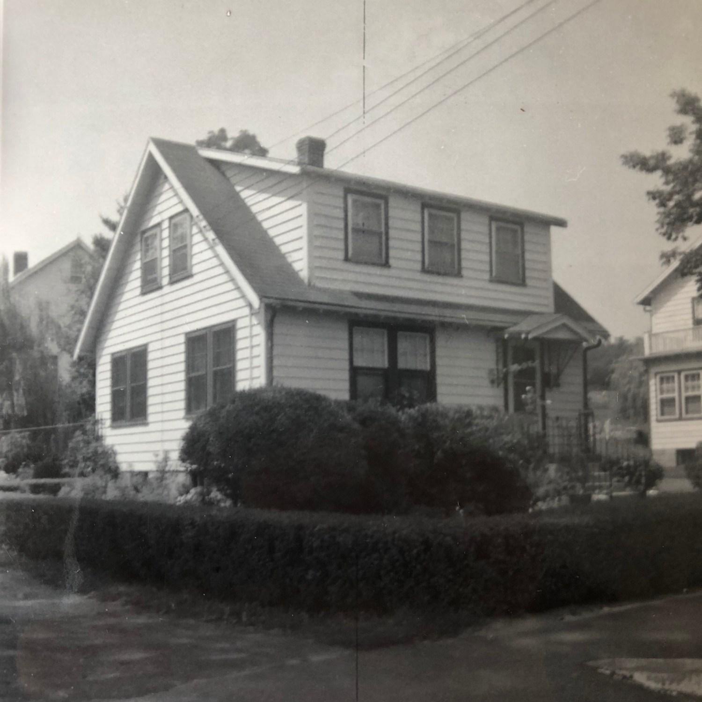 Regan house, c 1950, Burlington MA