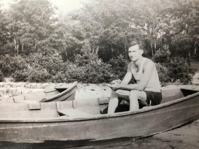 Tim Regan on Horn Pond
