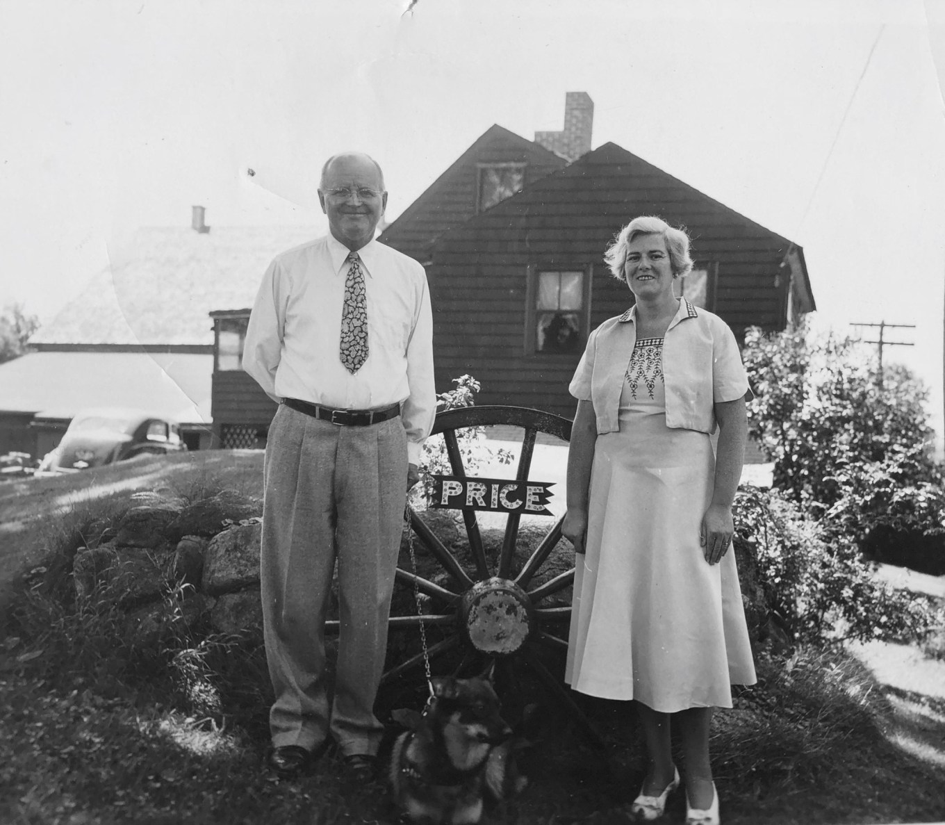 Hubert and Mary Price, Burlington MA
