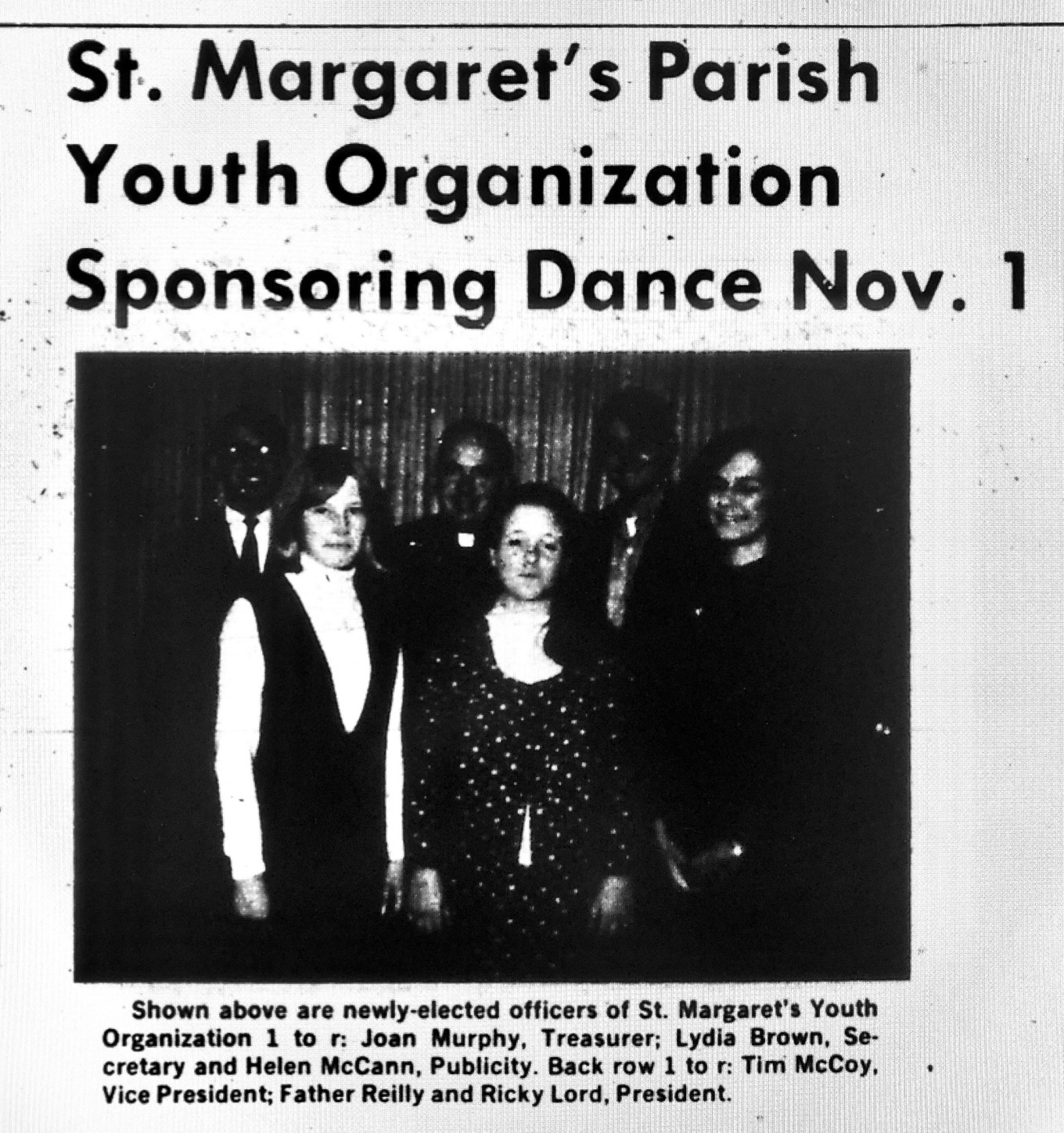 St. Margaret's dance, Burlington, MA