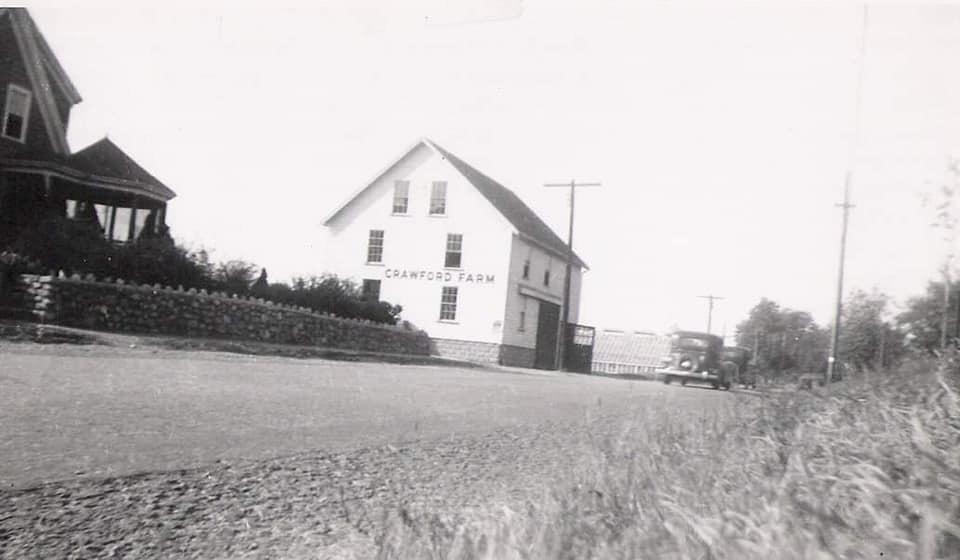 Crawford Farm on Washington Street, Woburn MA