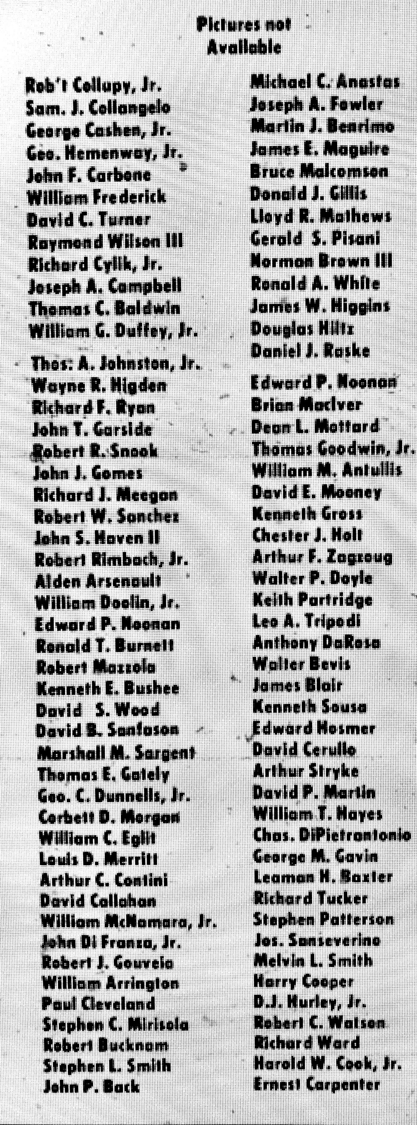 1968 servicemen list