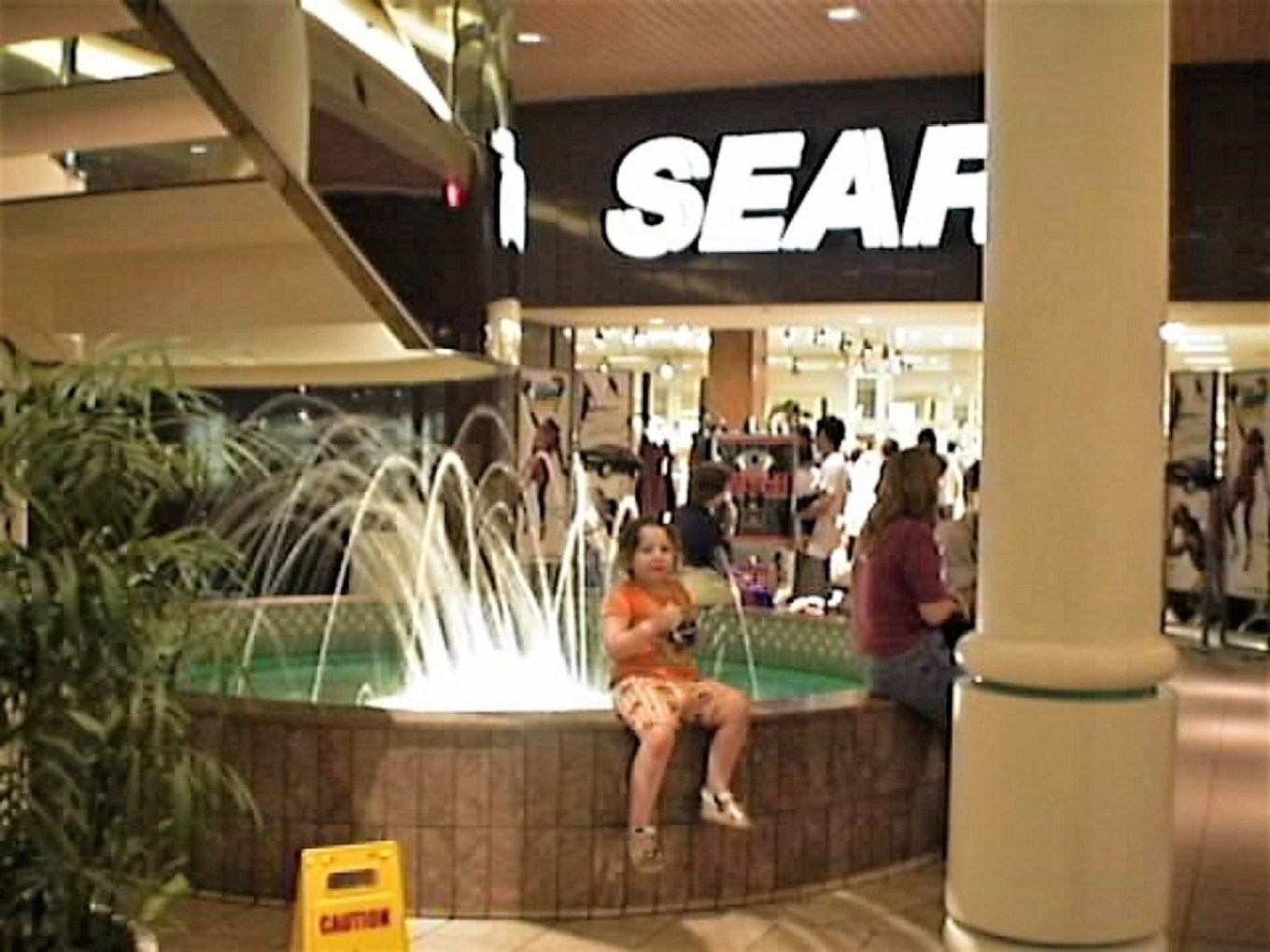 No more mall fountains -- or Sears