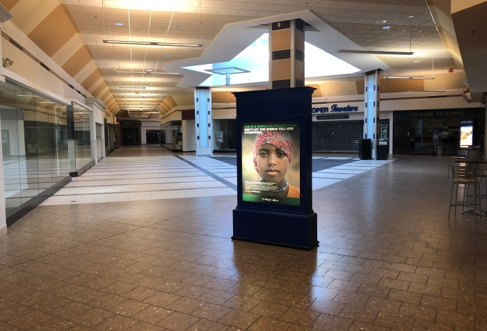 Woburn Mall vacant