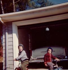 Mike (left) and me, Burlington MA