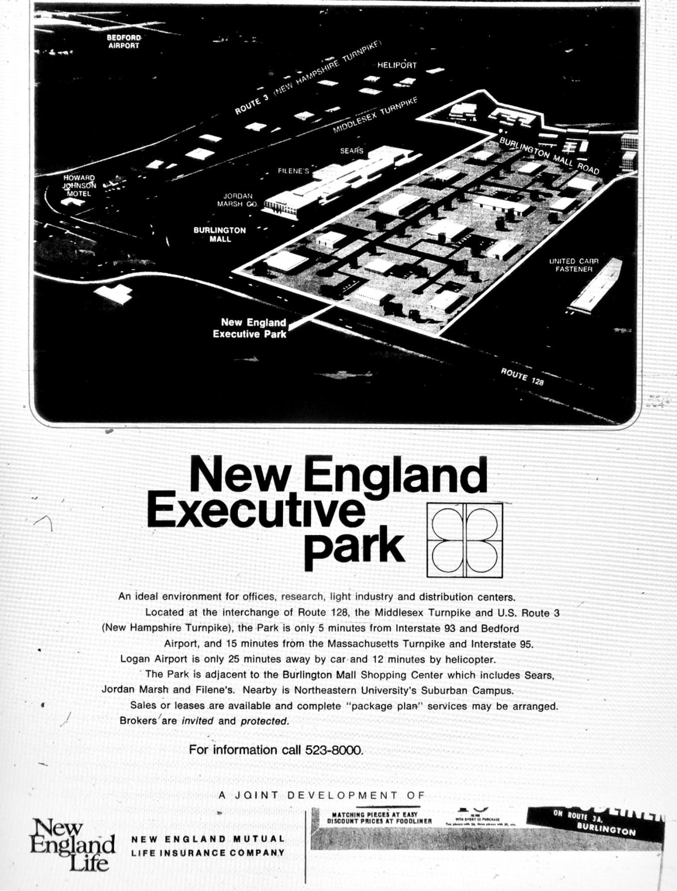 New England Executive Park Burlington MA
