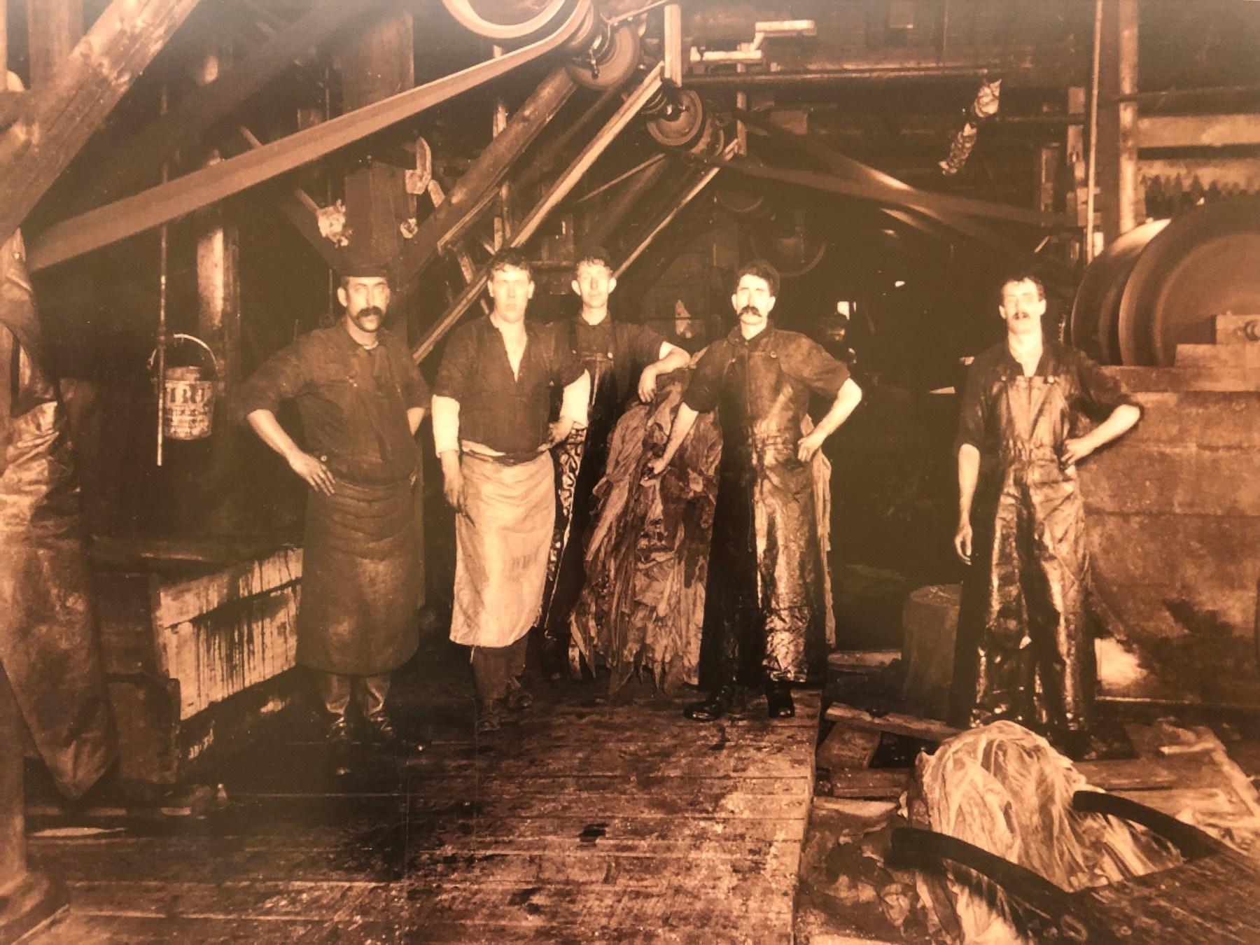 American Hide & Leather Company, Cross Street, Woburn, 1912