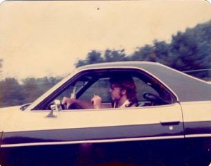 Me in my '74 El Camino