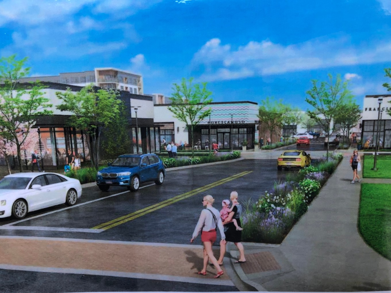 Woburn Mall rendering
