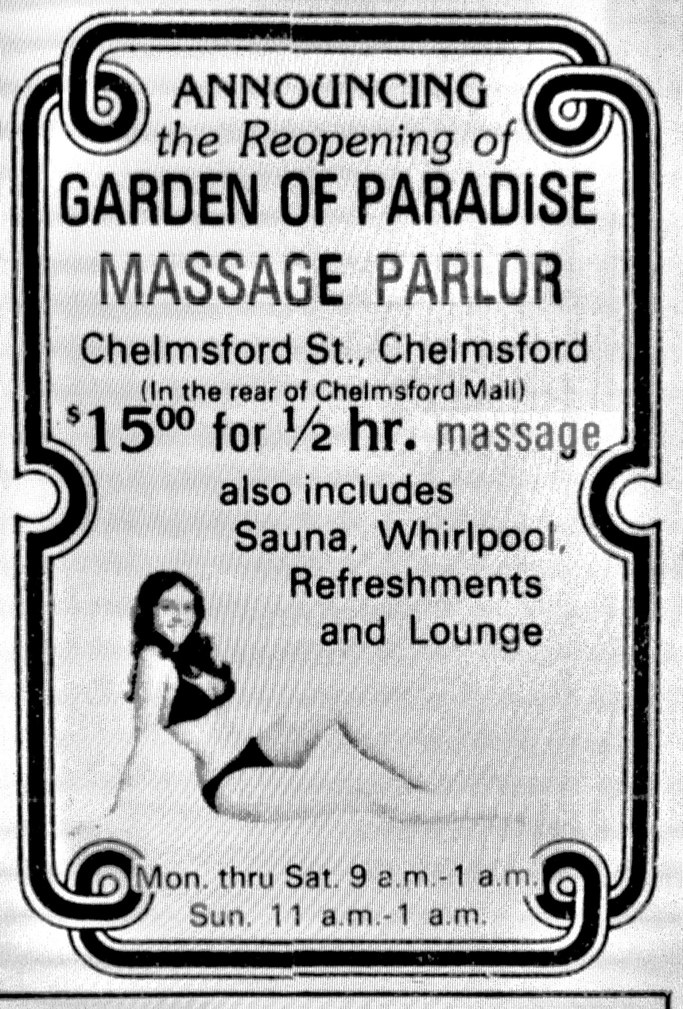 Garden of Paradise, Chelmsford MA