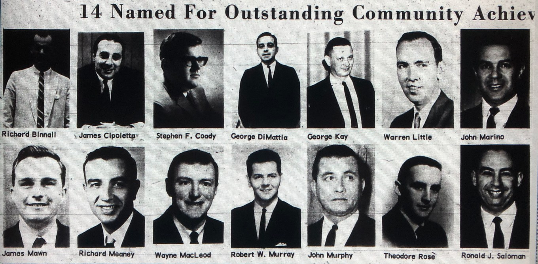 Community achievement award, Burlington MA