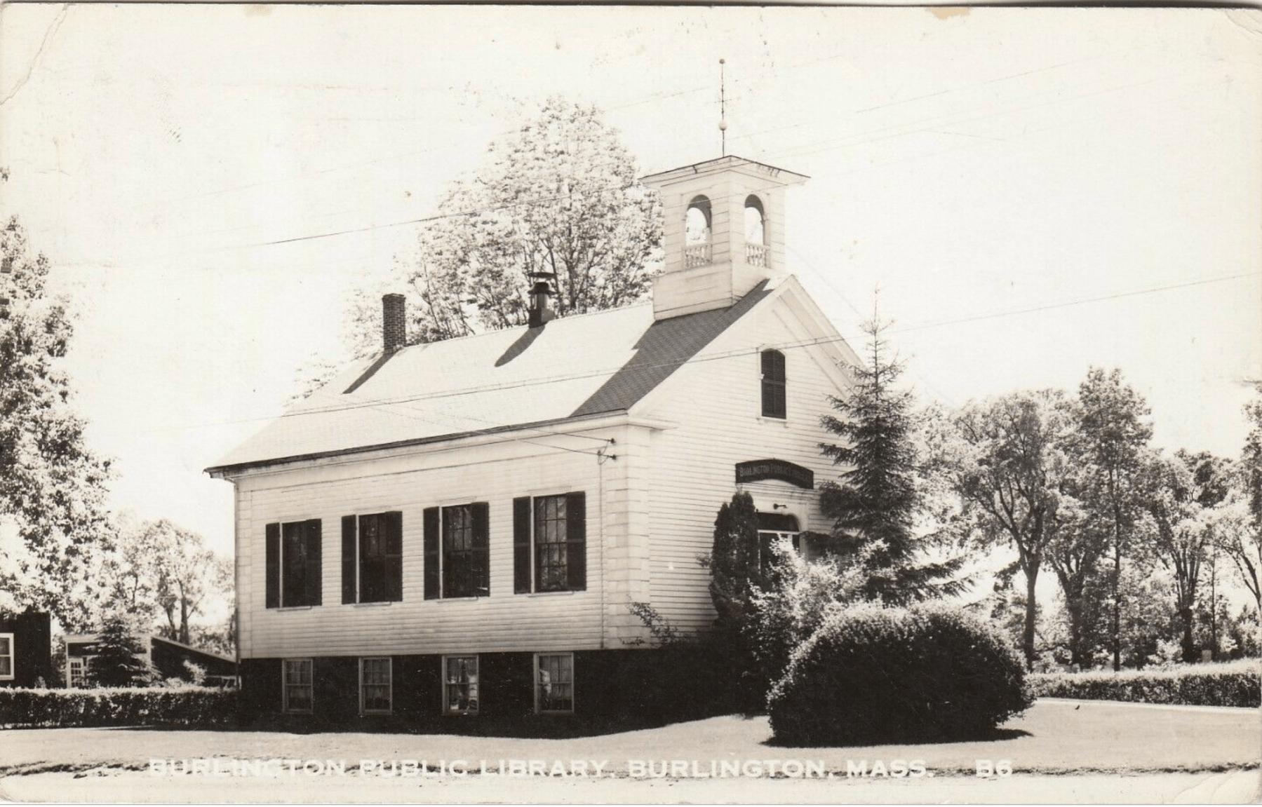 Burlington Public Library c. 1951