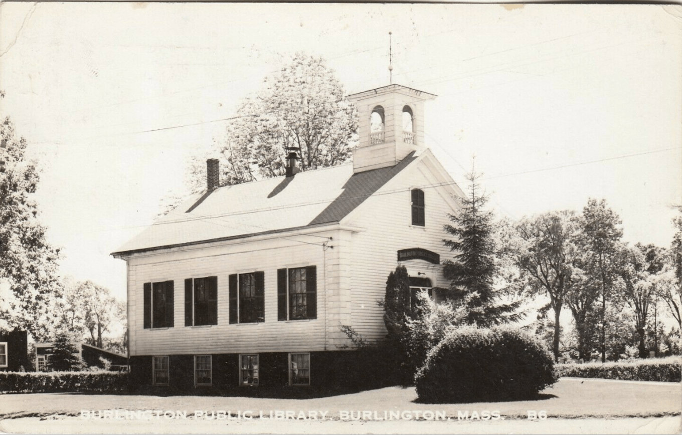 Burlington Public Library c. 1951