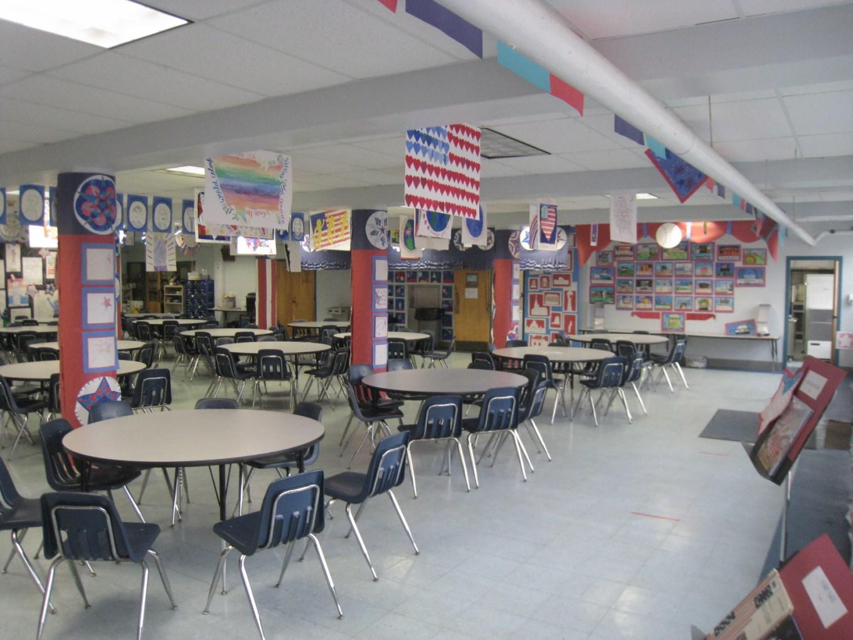 Memorial School cafeteria, Burlington MA