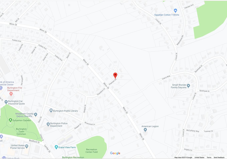 Pearson Circle, Burlington MA