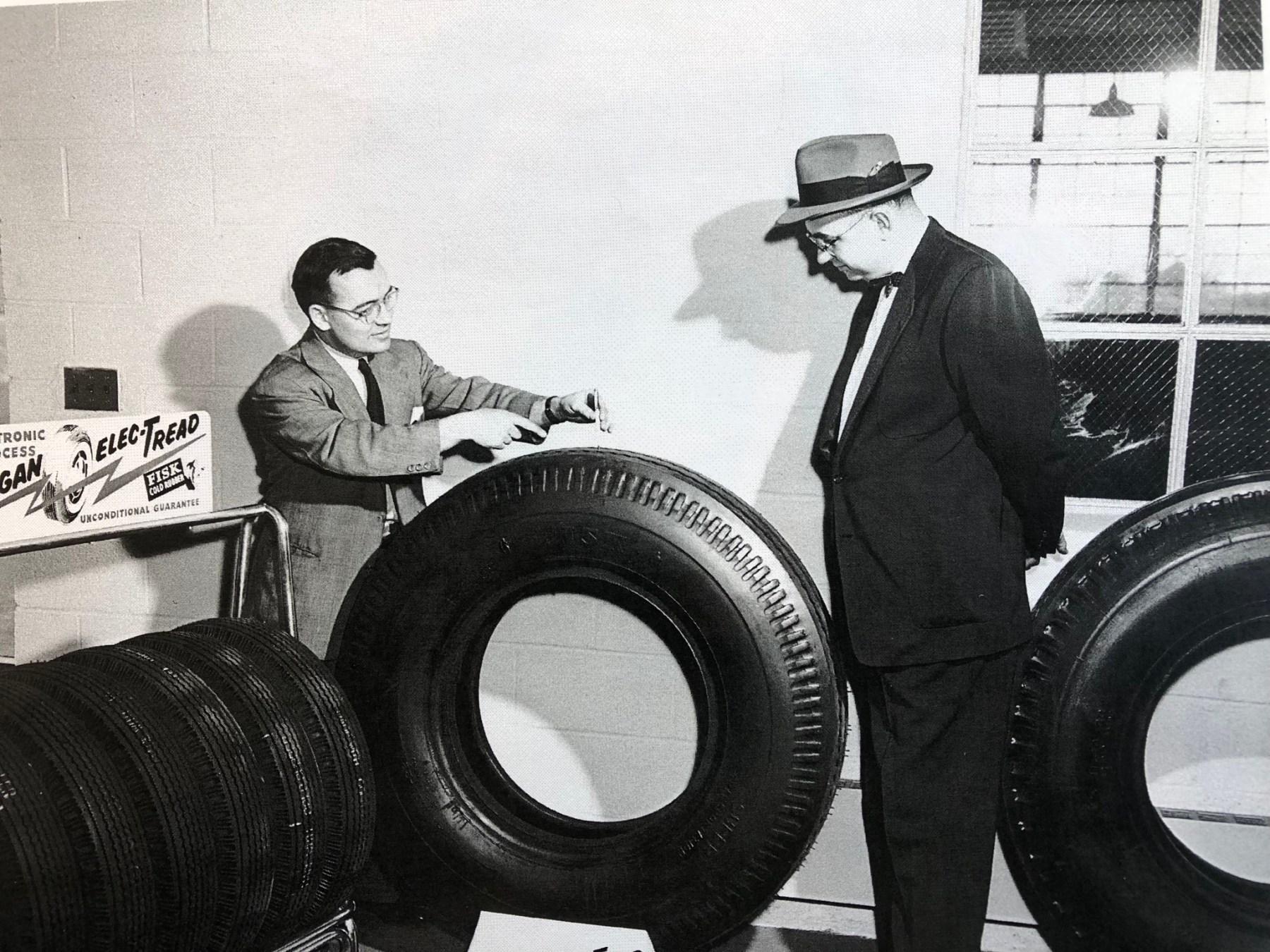 Hogan Tire ElecTread 1955