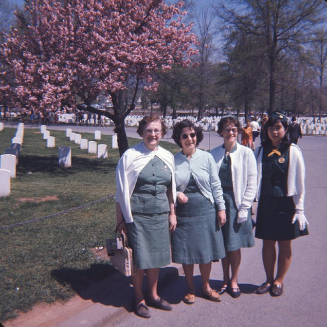 DC group leaders, Girl Scouts