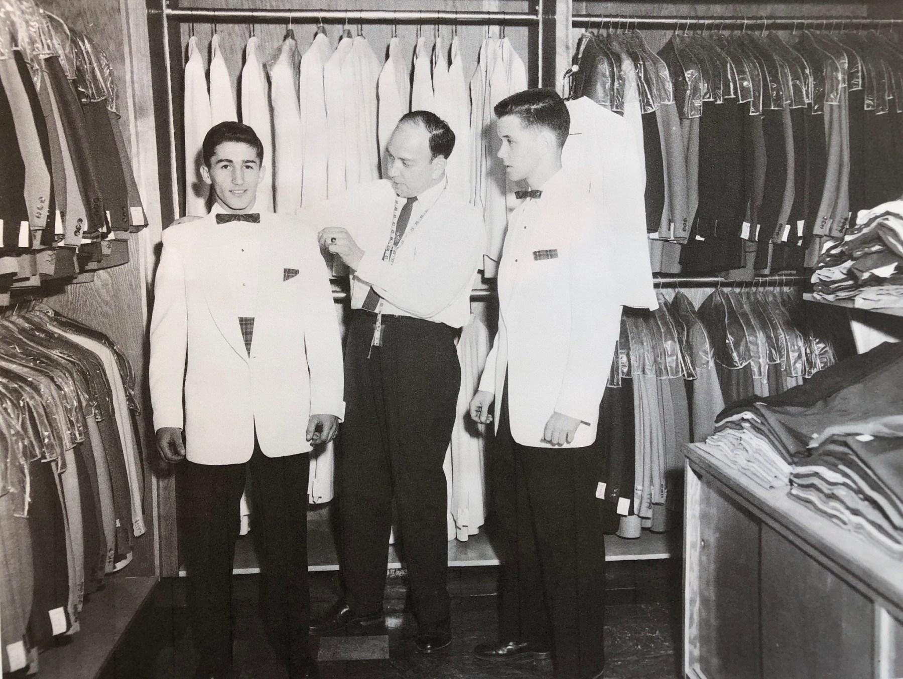 Silverman's Men's Shop, Woburn MA