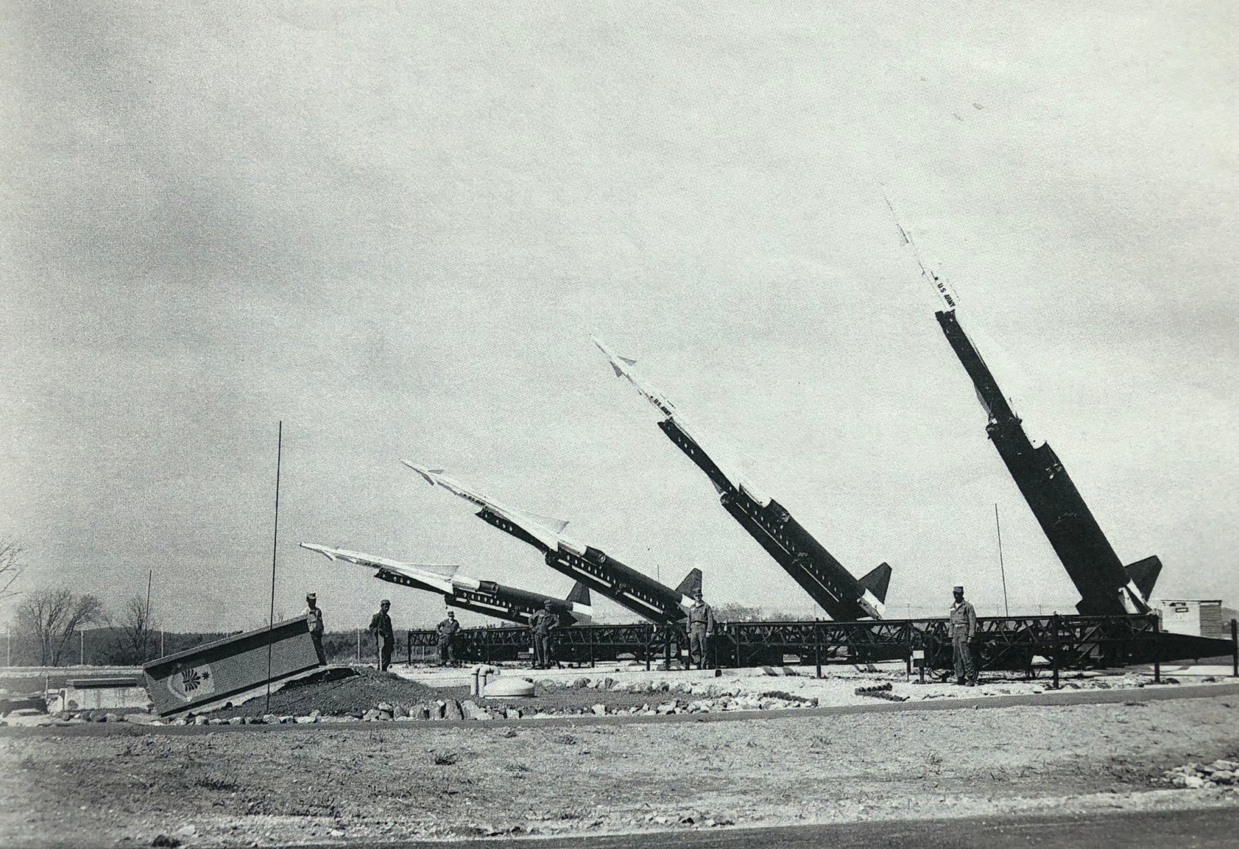 Burlington missile array (Farino collection, Woburn)