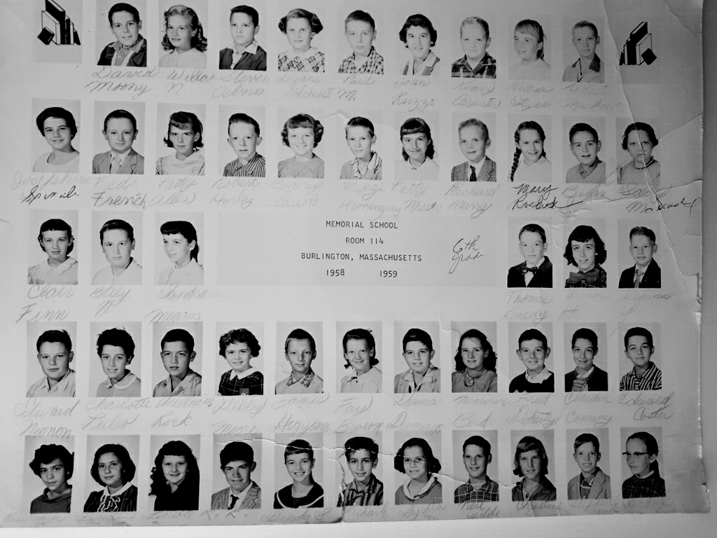1958-1959 Meadowbrook Room 114