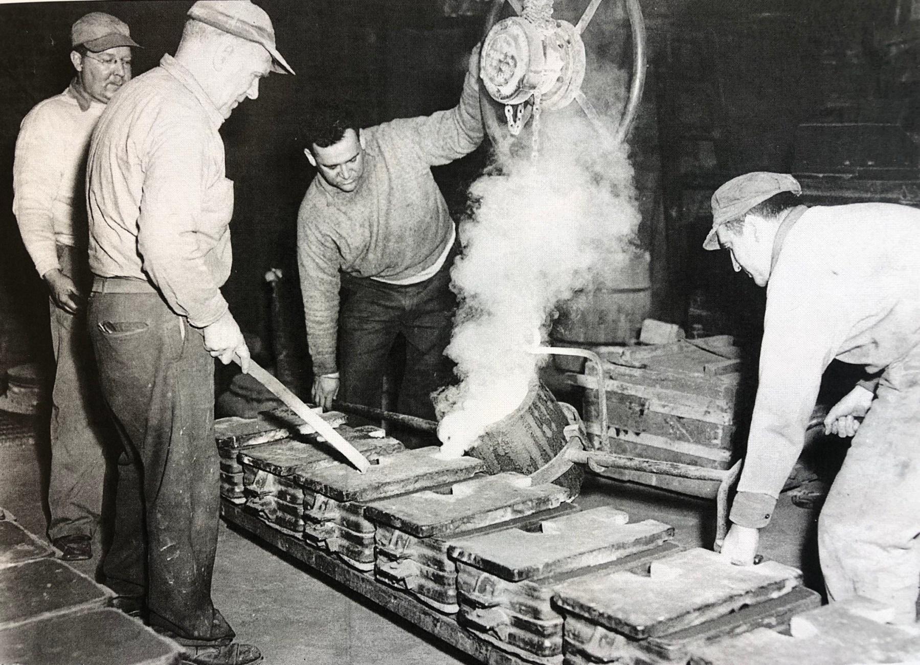 John H. McCafferty & Sons brass foundry, 12 Green Street Woburn