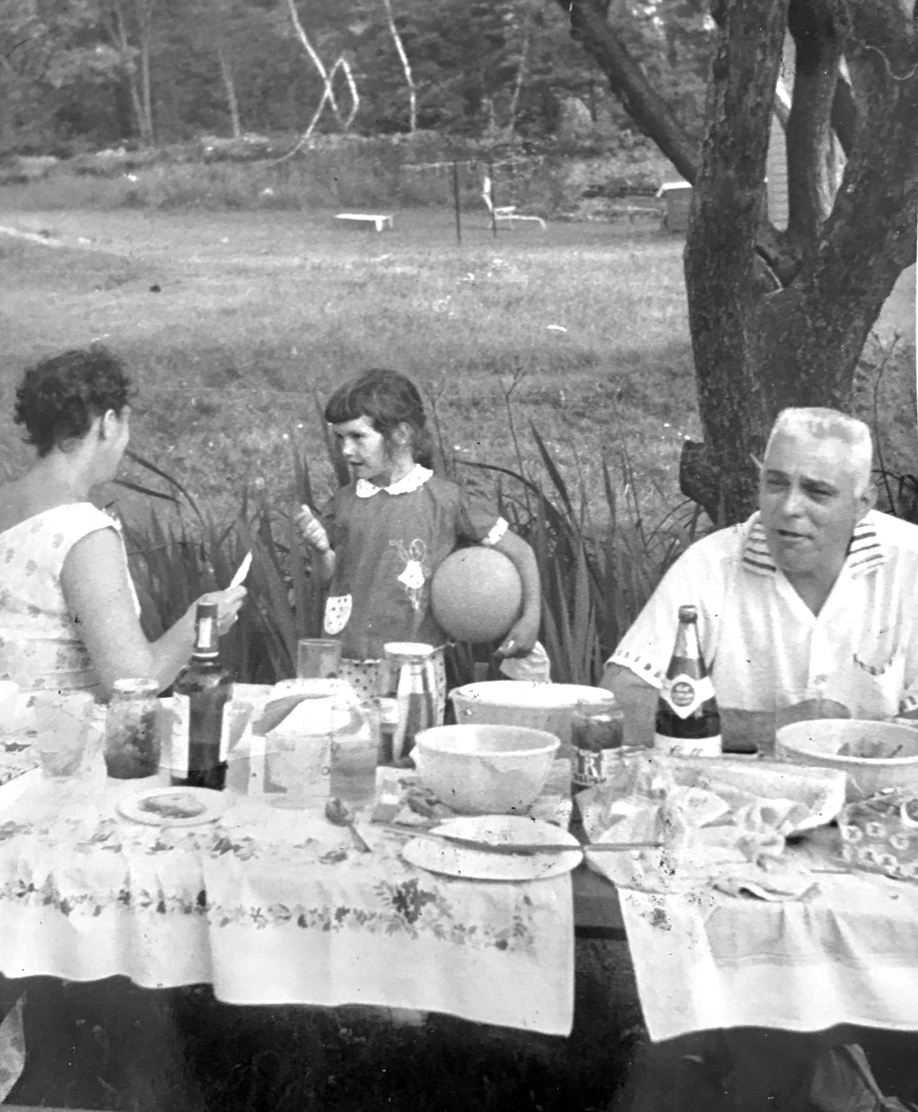 Beverly Lowe, Charles and Marjorie Casassa. Photo credit: Beverly Lowe Obremski.