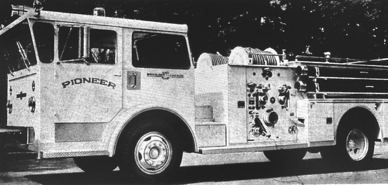 New fire department pumper, Burlington MA