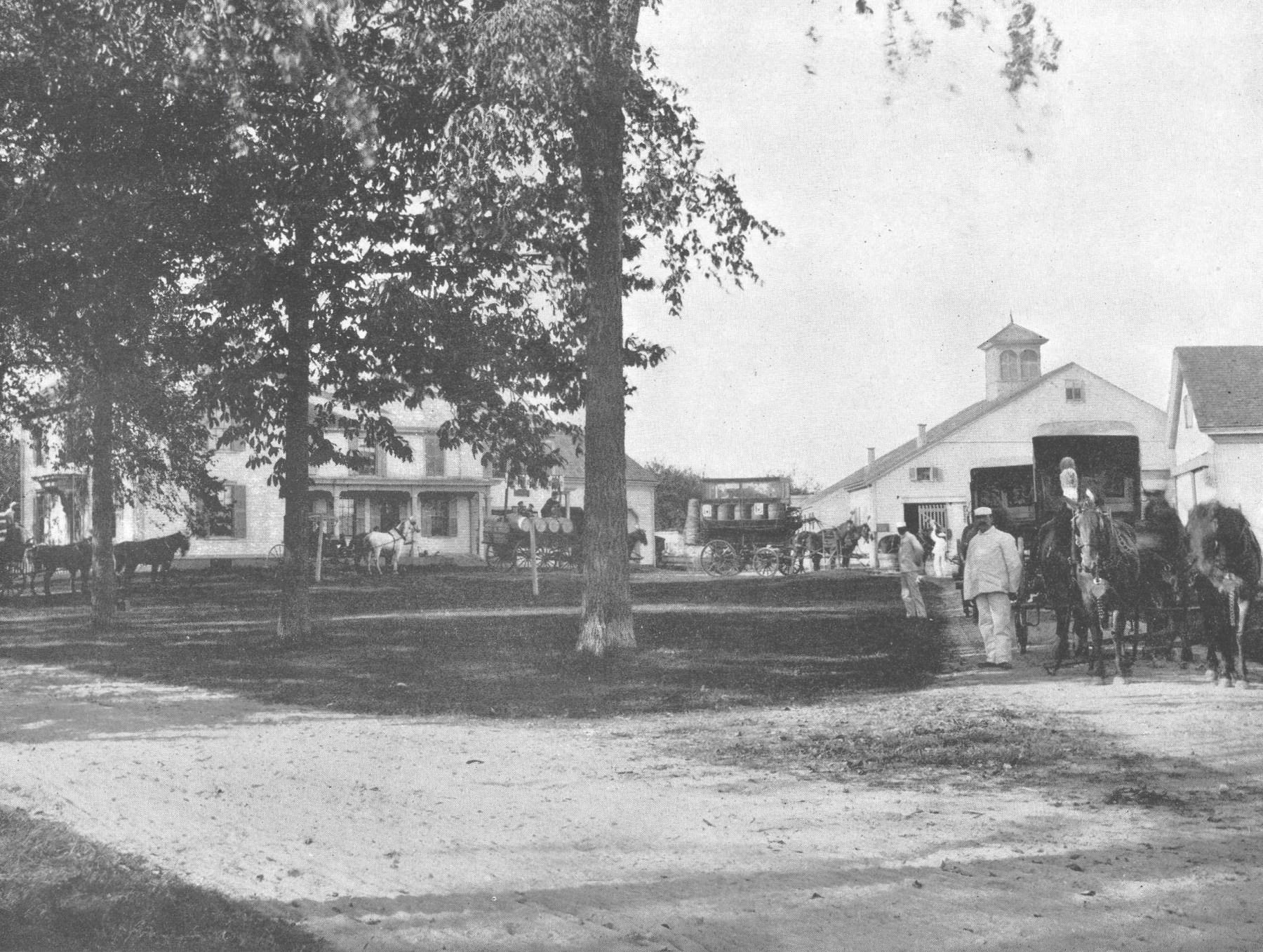 Reed Ham Works then. Photo credit: Burlington Archives