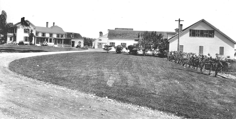 Reed Ham Works B/W. Photo credit: Burlington Archives