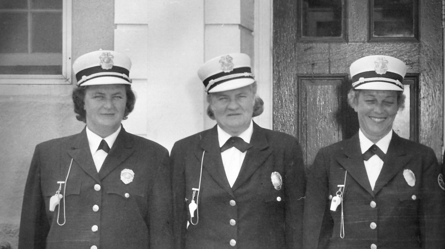 Eleanor Doyle, Anne Fields, Edith Johnson, Burlington MA