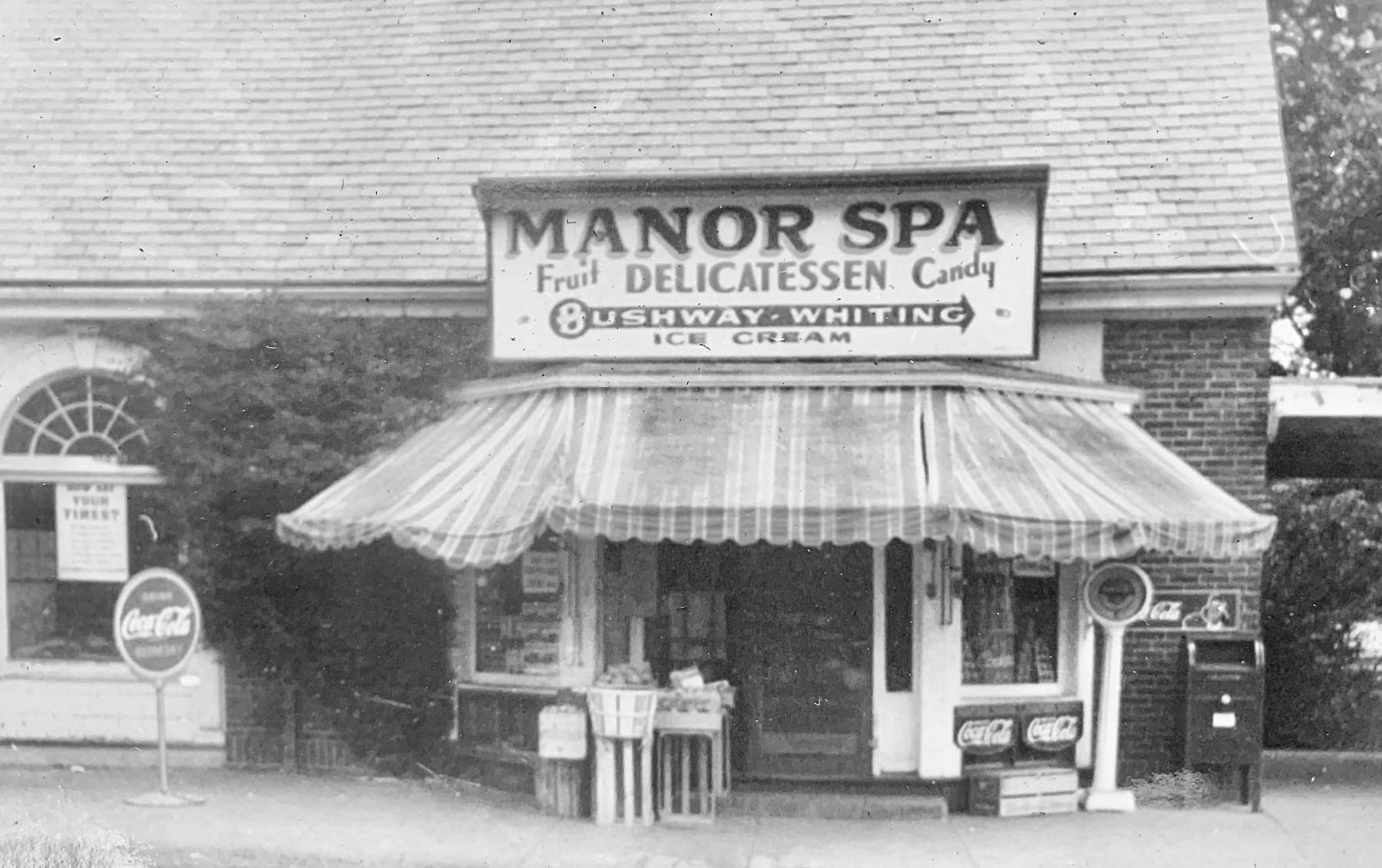 Manor Spa exterior 1942