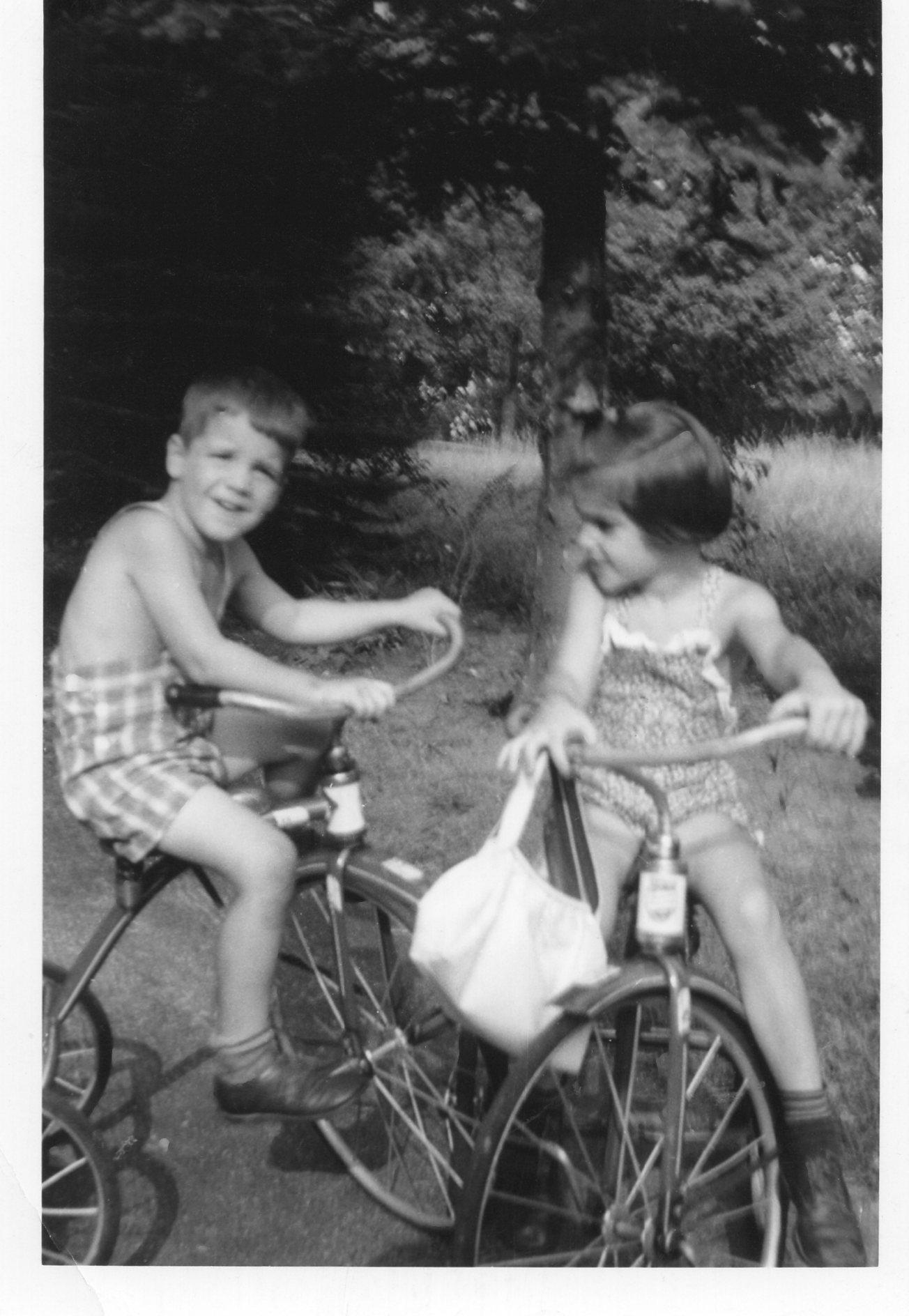 Guy and Sally Reed, Sept. '47, Burlington MA