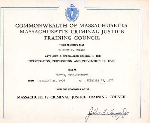 Putnam certificate