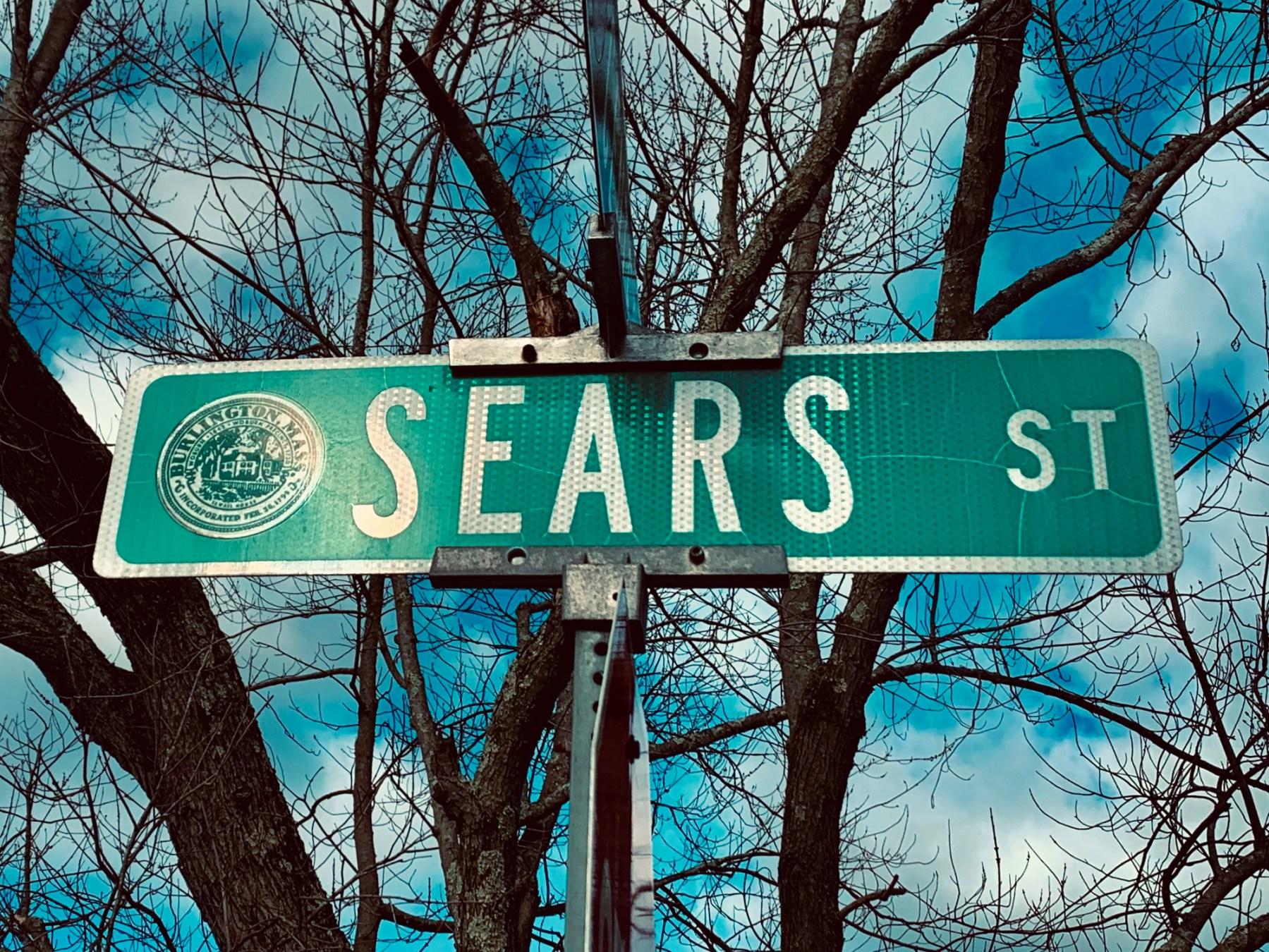Sears Street sign