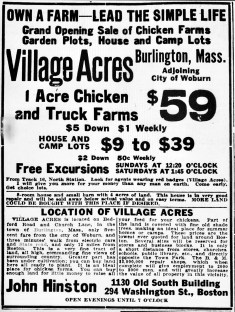 Village Acres Burlington MA