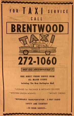 Brentwood Taxi Burlington MA